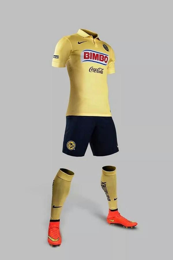 Los nuevos uniformes de am rica invictos for Cuarto uniforme del america