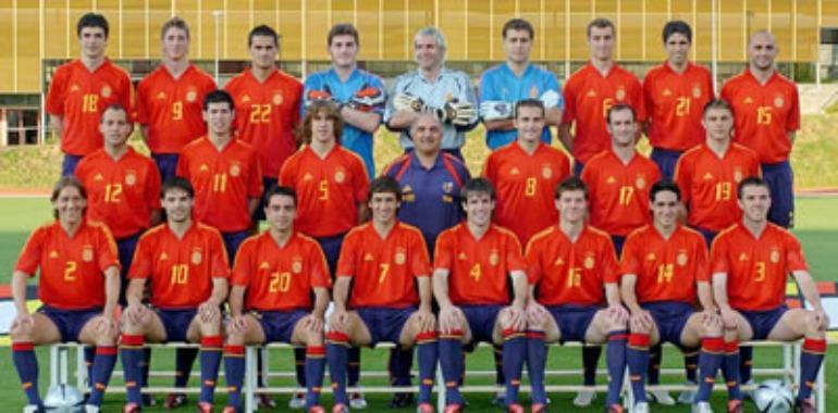 Hilo de la selección de España Eurocopa-2004