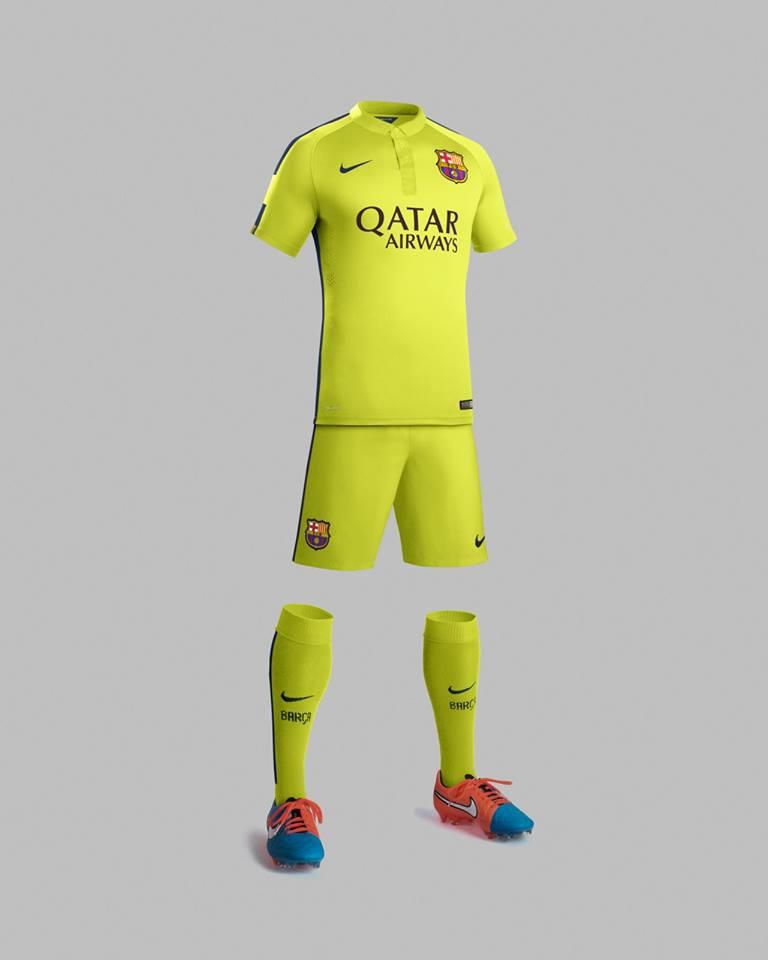 El tercer uniforme del fc barcelona invictos