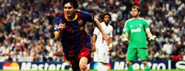 A 4 años del show de Messi en el bernabeu