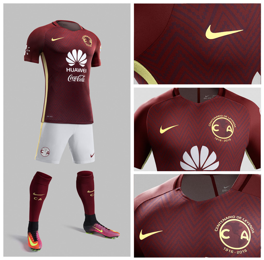 Uniforme conmemorativo el nuevo uniforme del club am rica for Cuarto uniforme del club america