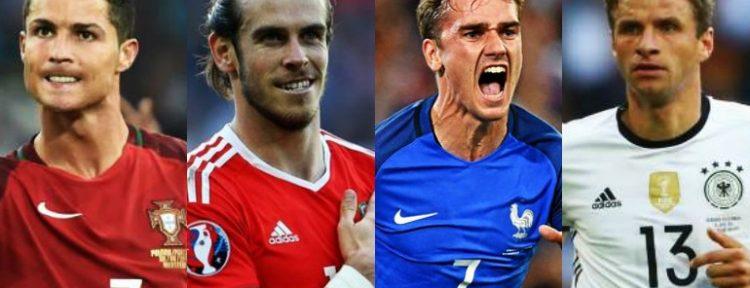 Servidas las semis: Portugal - Gales y Alemania - Francia