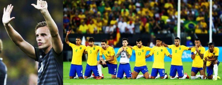 REPROBABLE: Robert Bauer y su terrible gesto a la afición de Brasil en el Maracaná