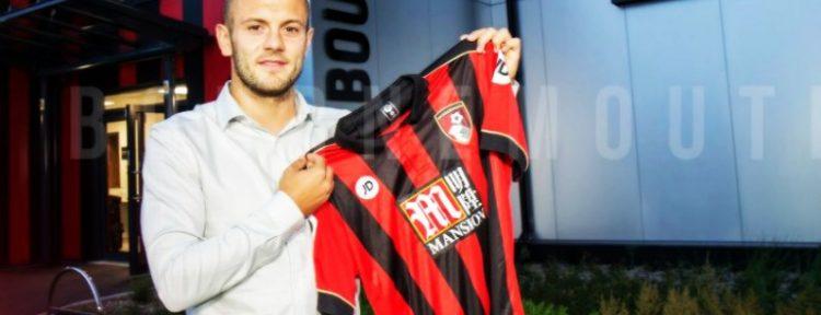 SORPRESÓN EN INGLATERRA: Jack Wilshere jugará la temporada 2016/17 con AFC Bournemouth