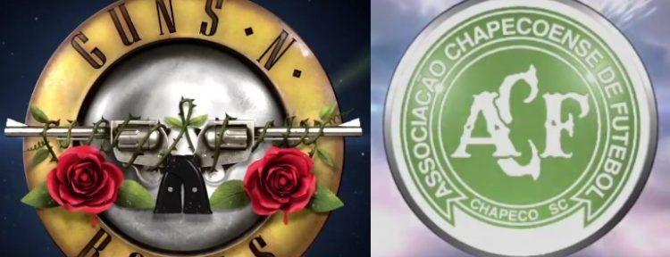 TOCANDO LAS PUERTAS DEL CIELO: Guns N' Roses homenajeó al Chapecoense con un emotivo vídeo/canción