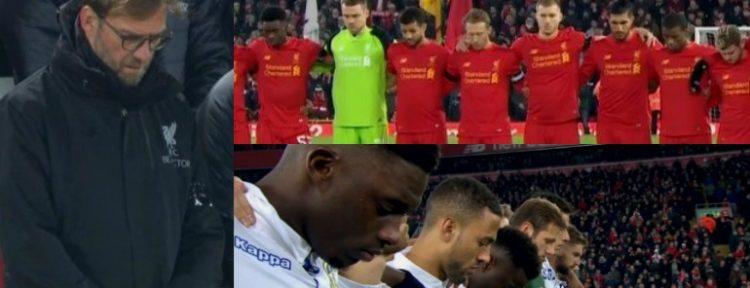 HOMENAJE: El You'll Never Walk Alone y el minuto de silencio en Anfield para las víctimas de Chapecoense