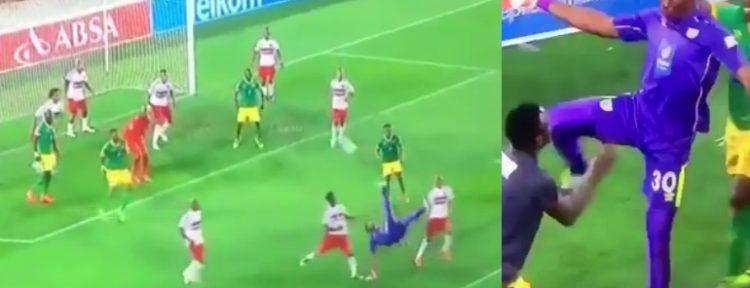 INSÓLITO: Un portero marcó de chilena en la última jugada del partido para darle el empate a su equipo