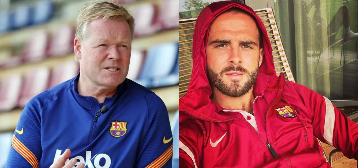 """DISPUTE RESOLVED: Ronald Koeman responded to the """"DT I disrespect"""" issued  by Miralem Pjanic"""